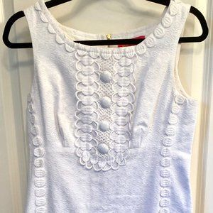 Lilly Pulitzer | White Beaded Jubilee Dress (6)